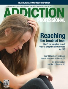addiction professional cover copy
