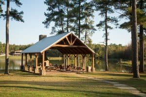 lakeside pavilion at Oxford Treatment Center