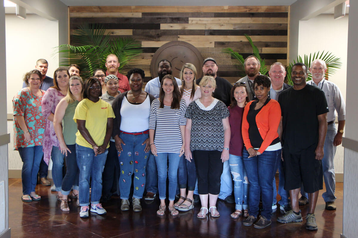 Participants at the first Mississippi Addiction Counselor Training course in Oxford