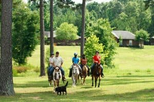 horse back riding as addition therapy at Oxford Treatment Center