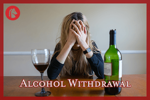 Man going through battle with alcohol withdrawal