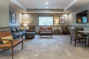 Oxford Outpatient Living Area