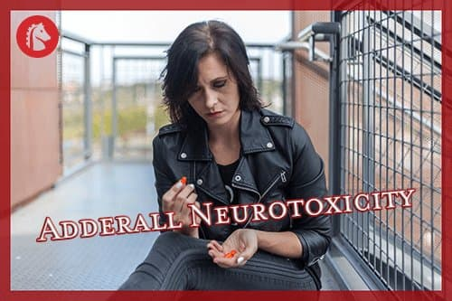 woman experiencing side effects of adderall neurotoxicity