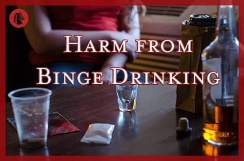 harm from binge drinking