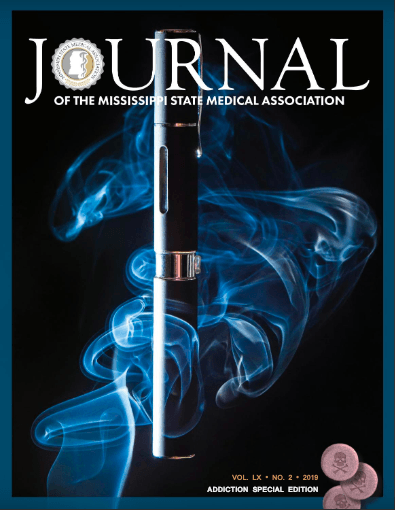 Journal of the Mississippi State Medical Association cover